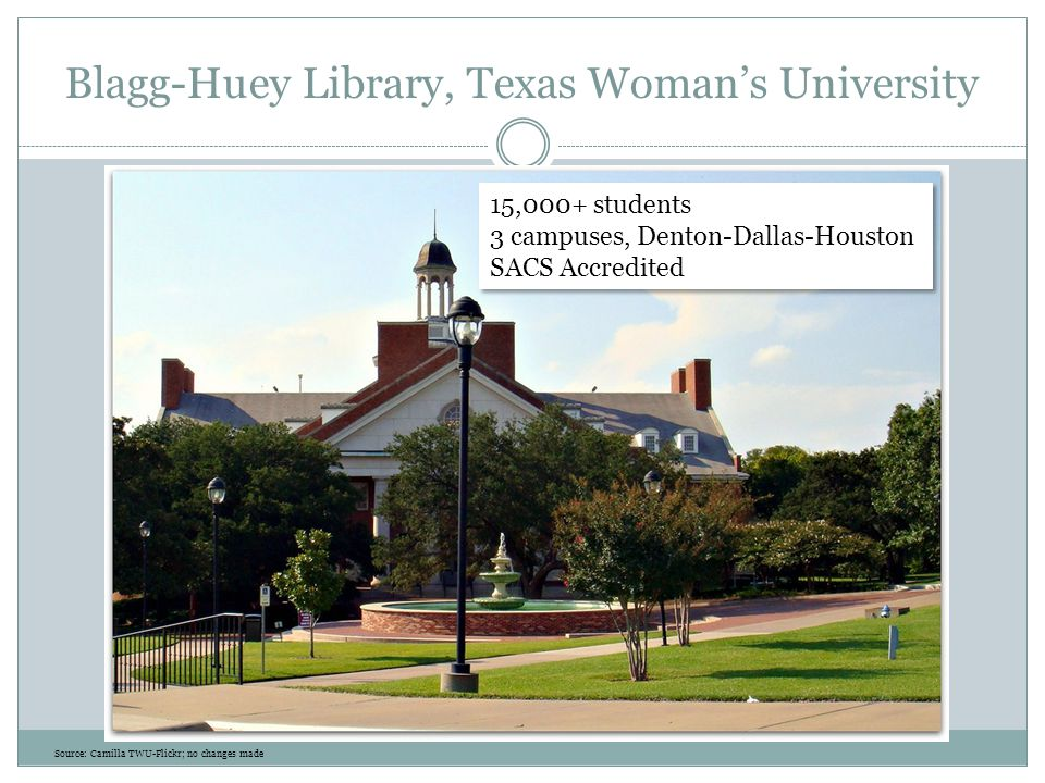 Blagg-Huey Library, Texas Woman's University