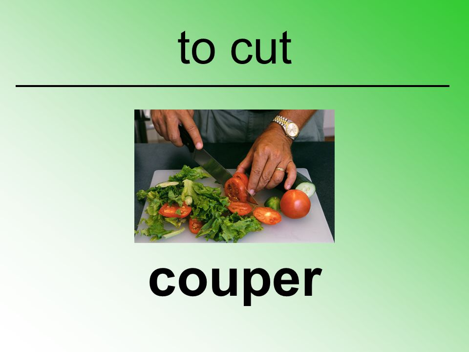 to cut couper