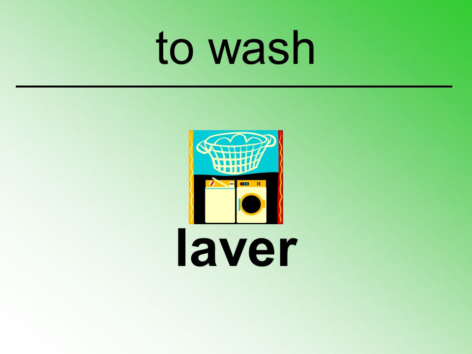 to wash laver