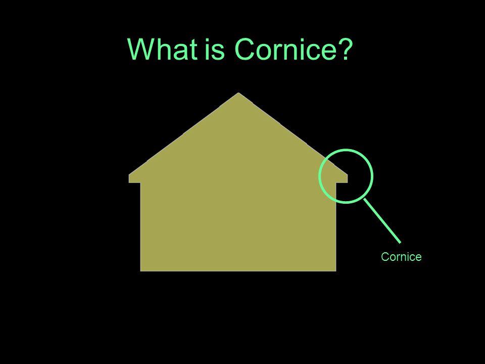 What is Cornice Cornice
