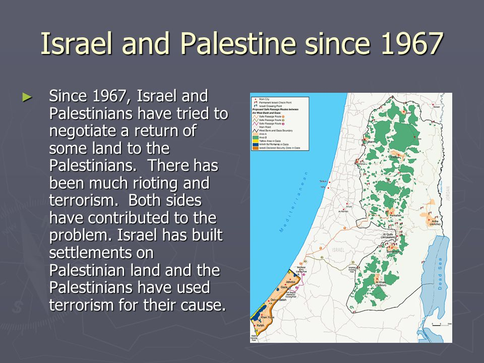 Israel and Palestine since 1967