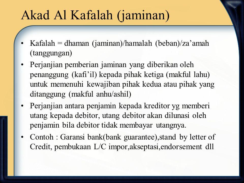Akad Al Kafalah (jaminan)