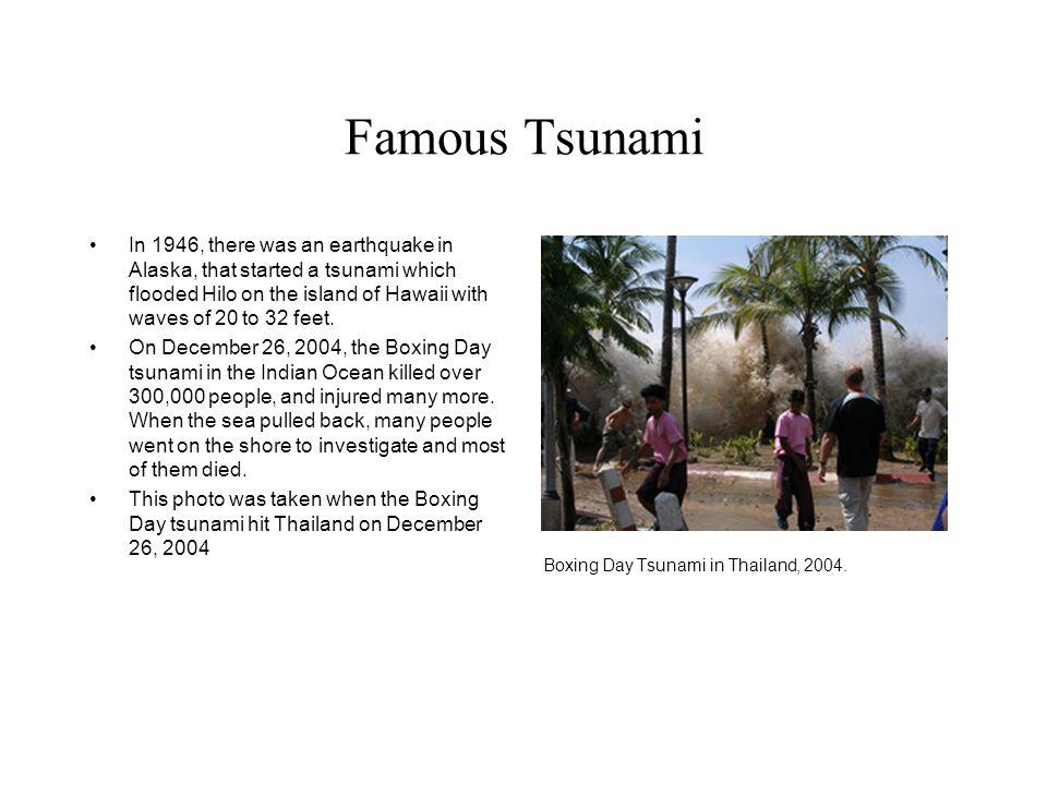 Famous Tsunami