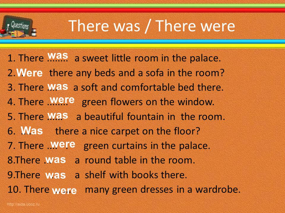 There was / There were was