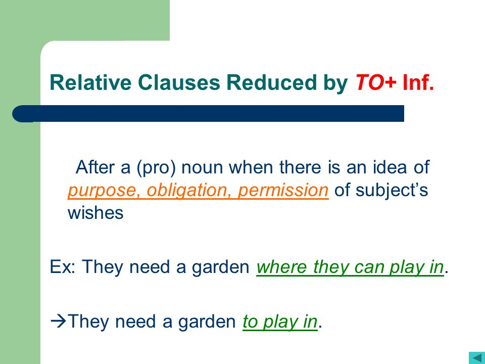 reduced relative clauses Participle clauses reduced relative clauses (download this page in pdf here) (click here for information about participle adjectives we can use participle clauses after a noun in the same way as relative clauses.