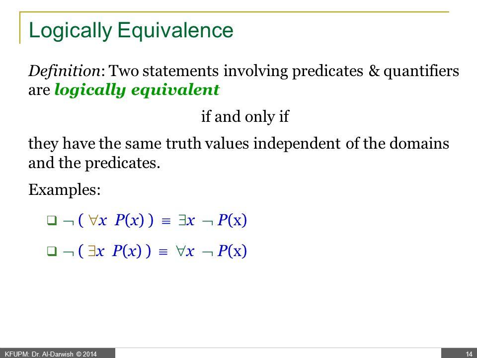 x P(x)  x P(x)  Theorem P(x1)  P(x2)  ...  P(xn)