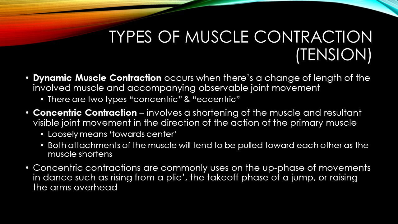 Types of Muscle Contraction (Tension)