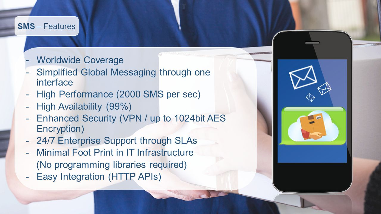 Simplified Global Messaging through one interface