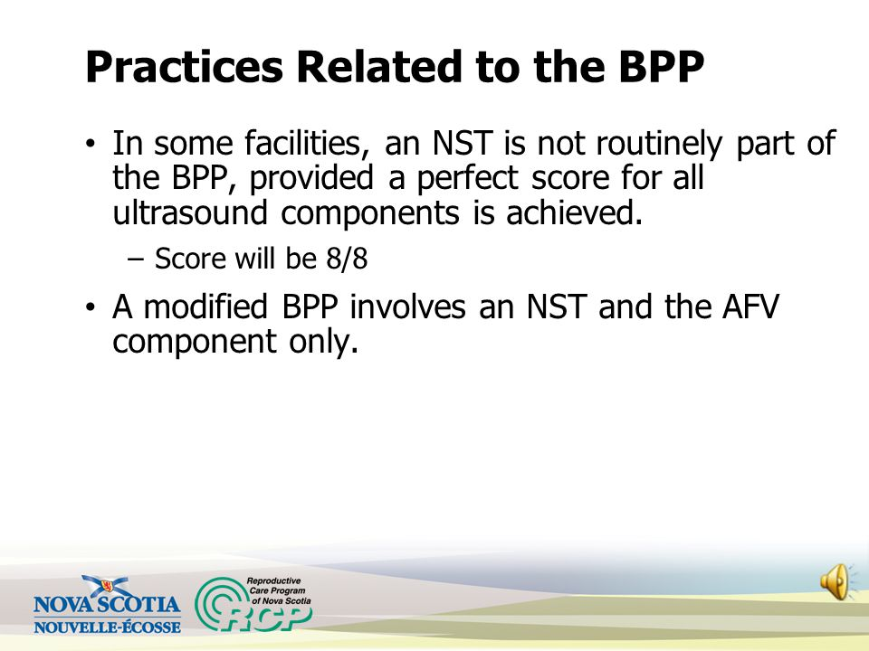 Practices Related to the BPP