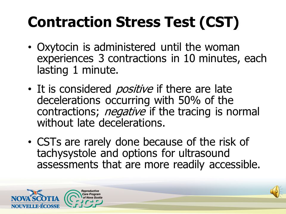 Contraction Stress Test (CST)