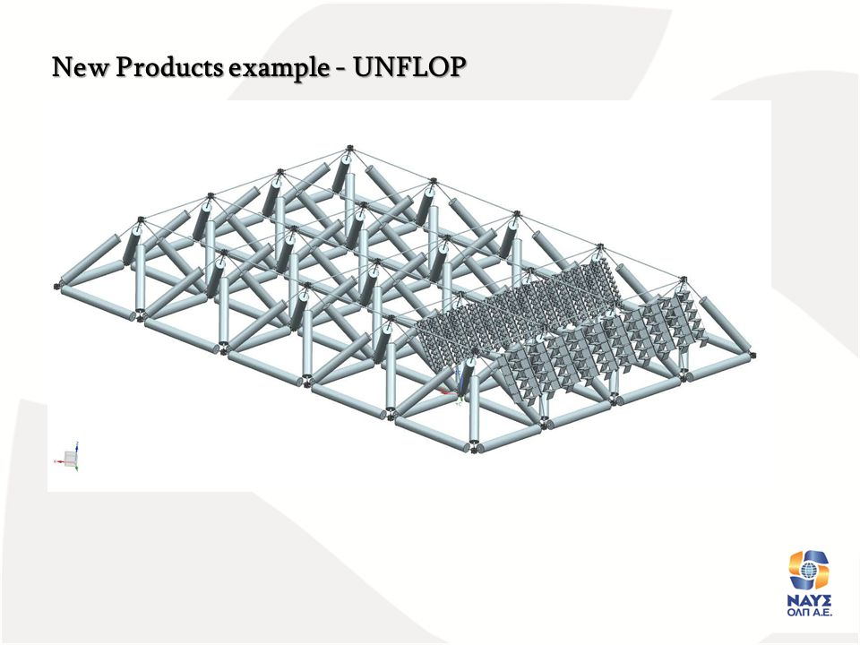 New Products example - UNFLOP