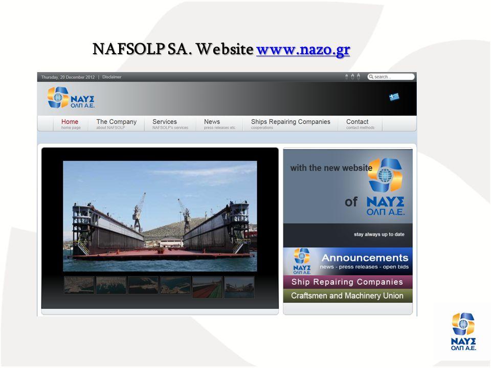 NAFSOLP SA. Website www.nazo.gr