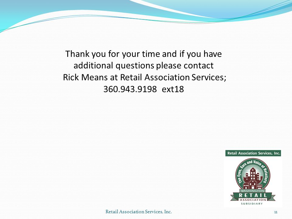 Retail Association Services, Inc.