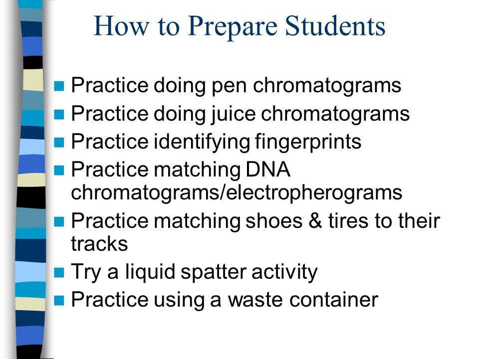 How to Prepare Students
