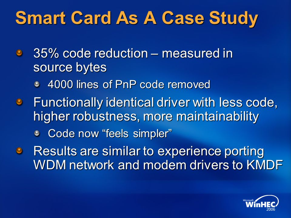 Smart Card As A Case Study