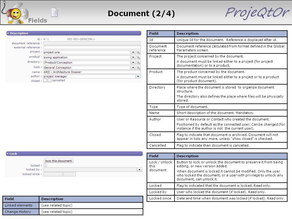 Document (2/4) Fields 48 48 48 48 Field Description Id