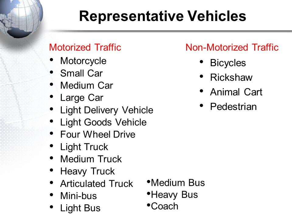 Representative Vehicles