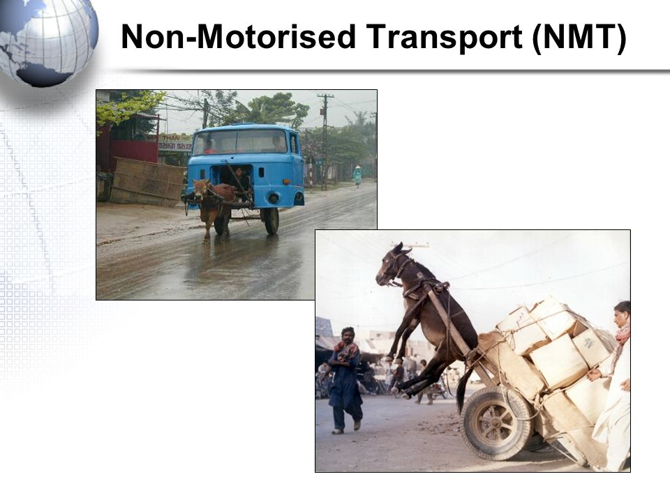 Non-Motorised Transport (NMT)