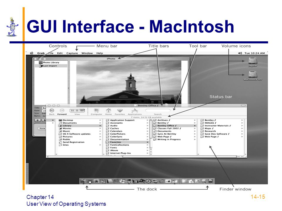 GUI Interface - MacIntosh