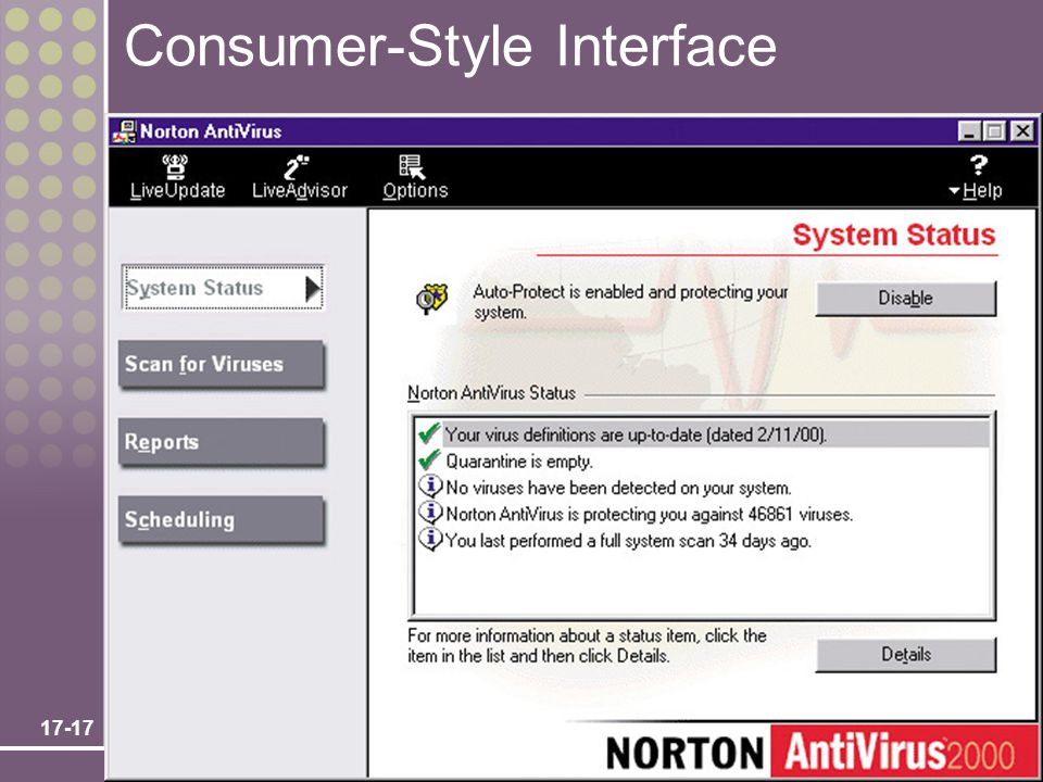 Consumer-Style Interface