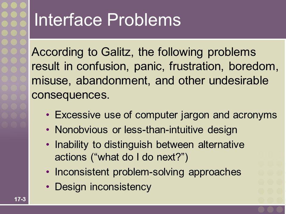 Interface Problems