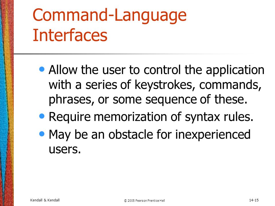 Command-Language Interfaces