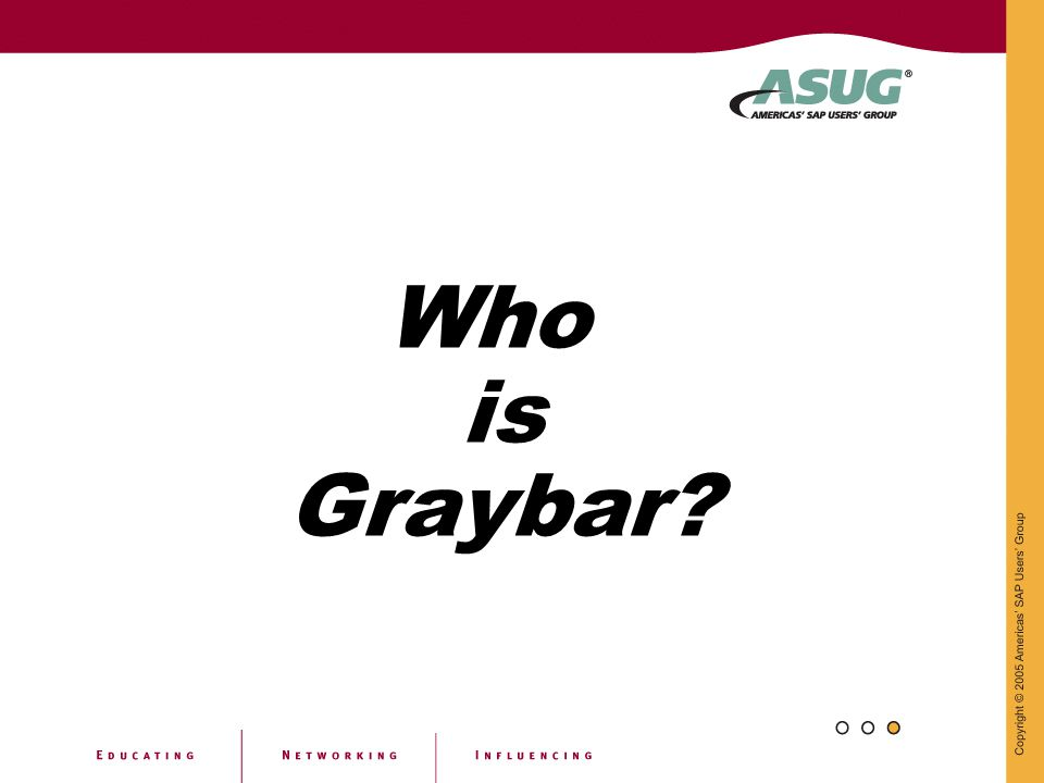 Who is Graybar