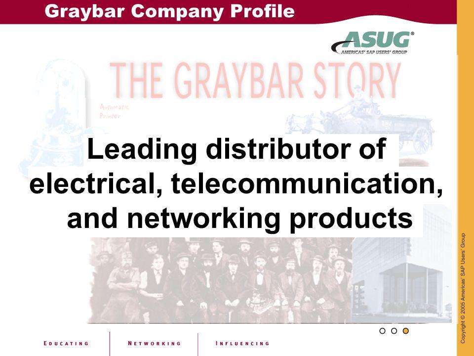 Graybar Company Profile
