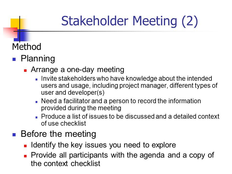 Stakeholder Meeting (2)