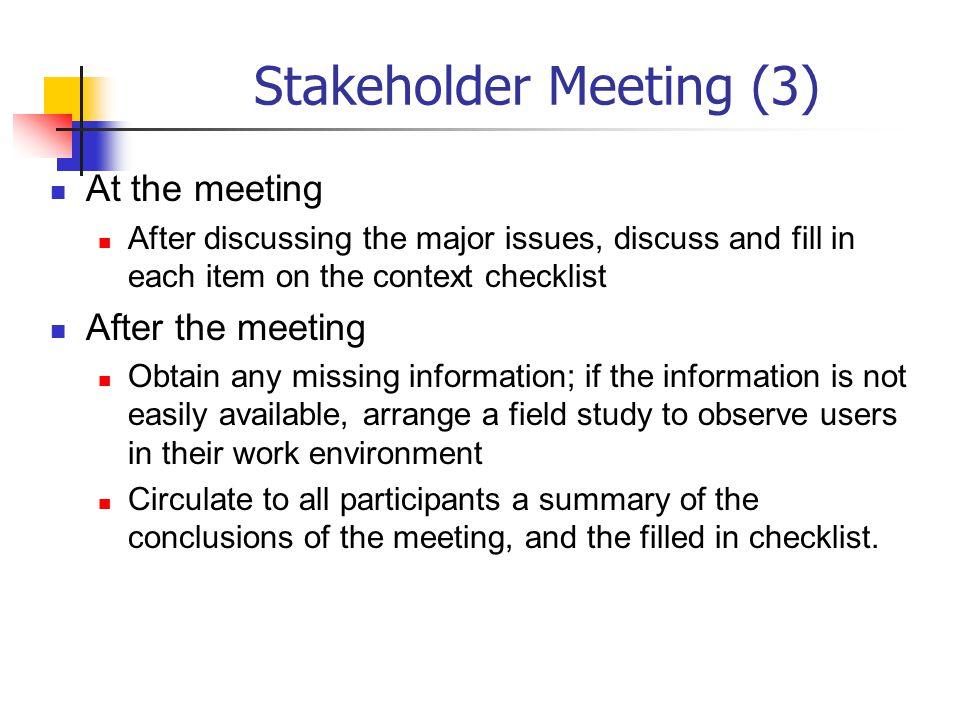 Stakeholder Meeting (3)