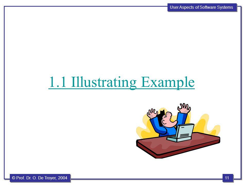 1.1 Illustrating Example
