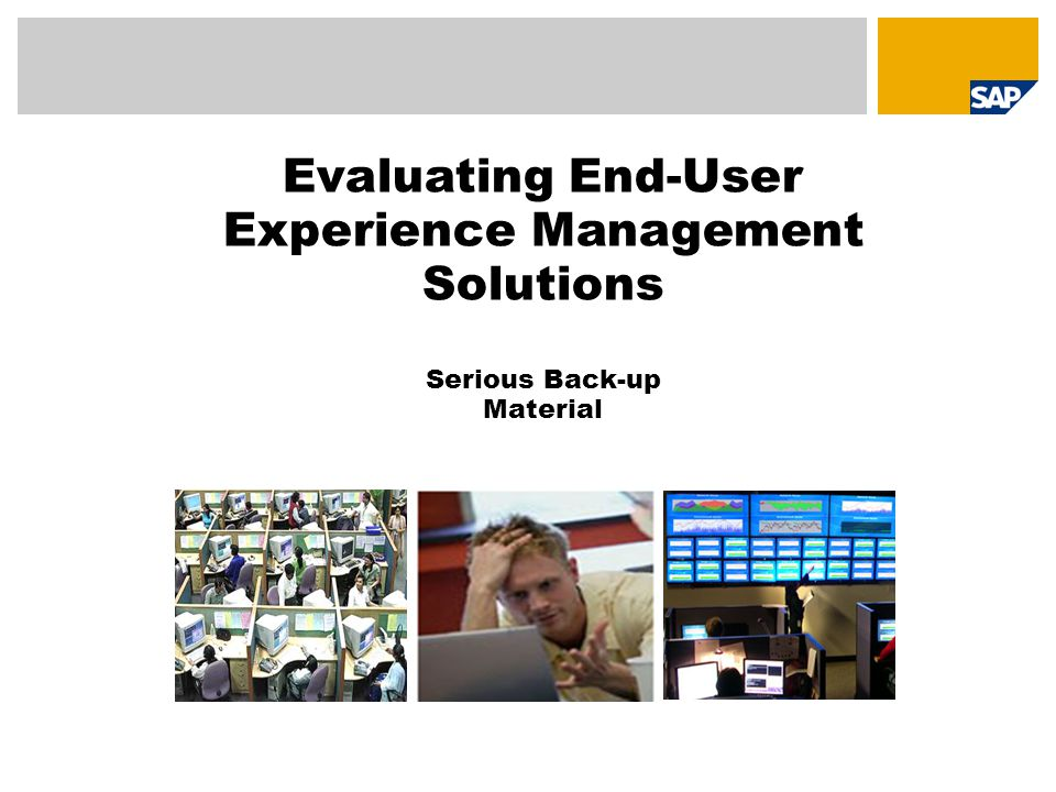 Experience Management Solutions