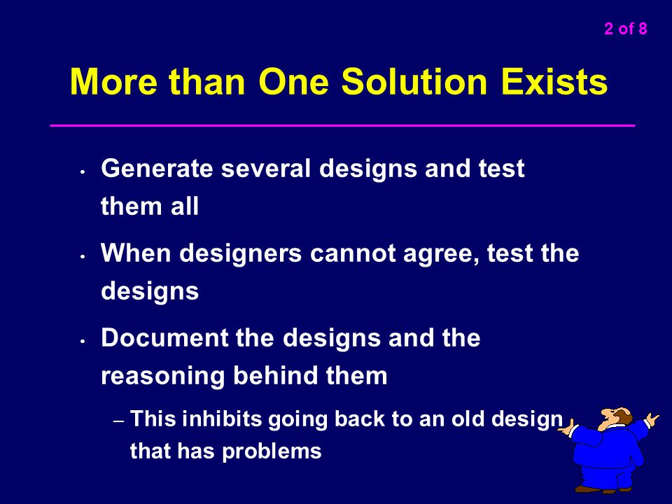 More than One Solution Exists
