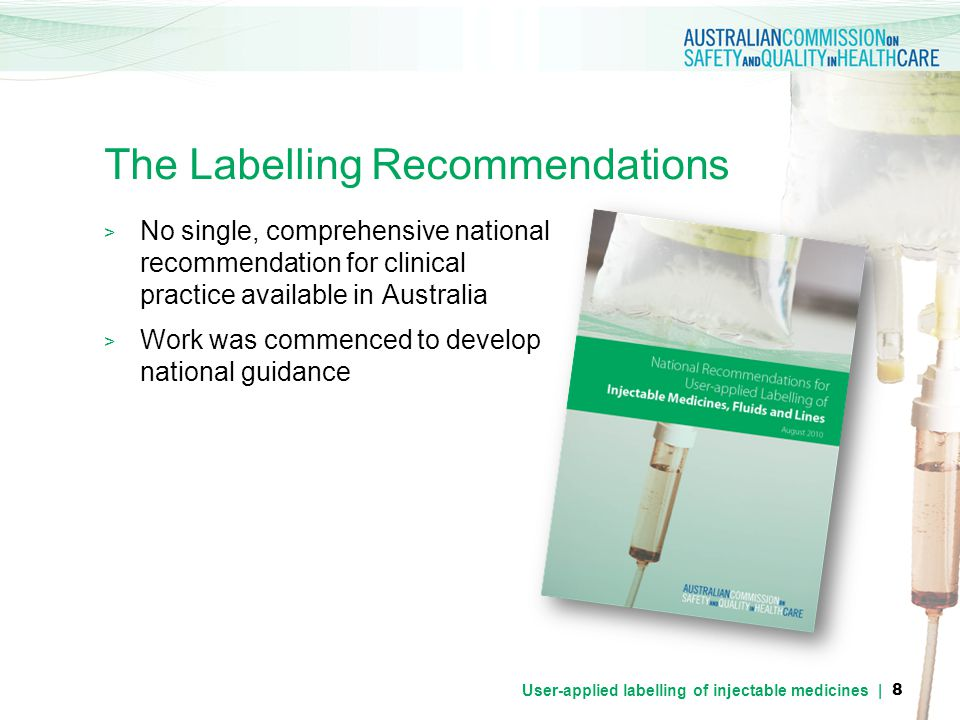 The Labelling Recommendations