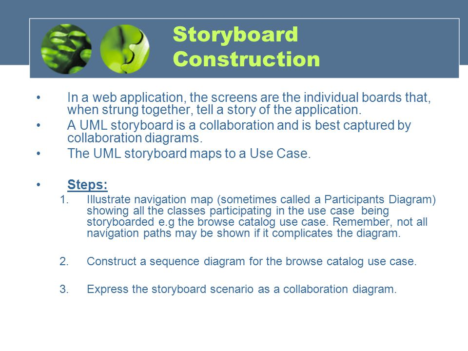 Storyboard Construction