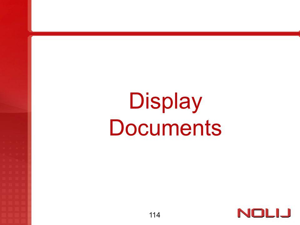 Display Documents 114