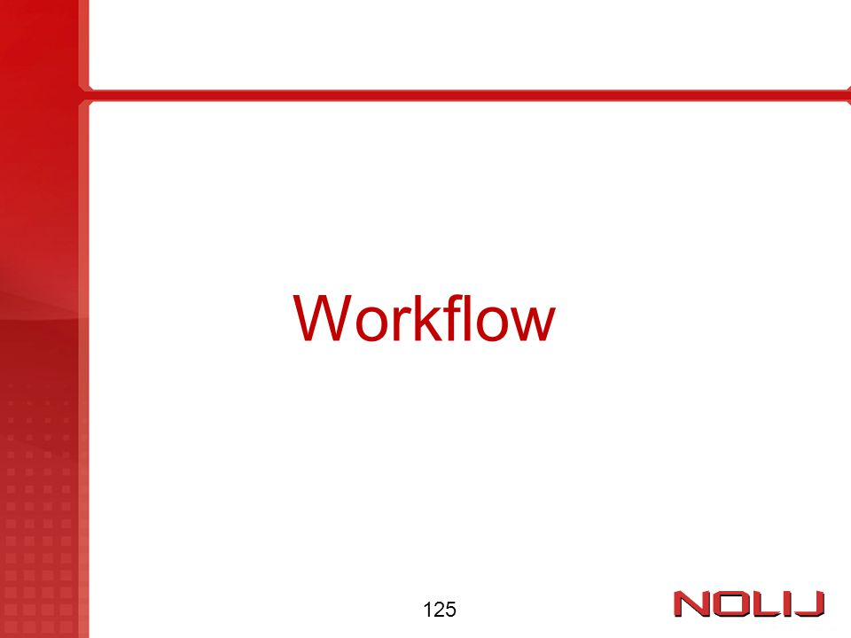 Workflow 125