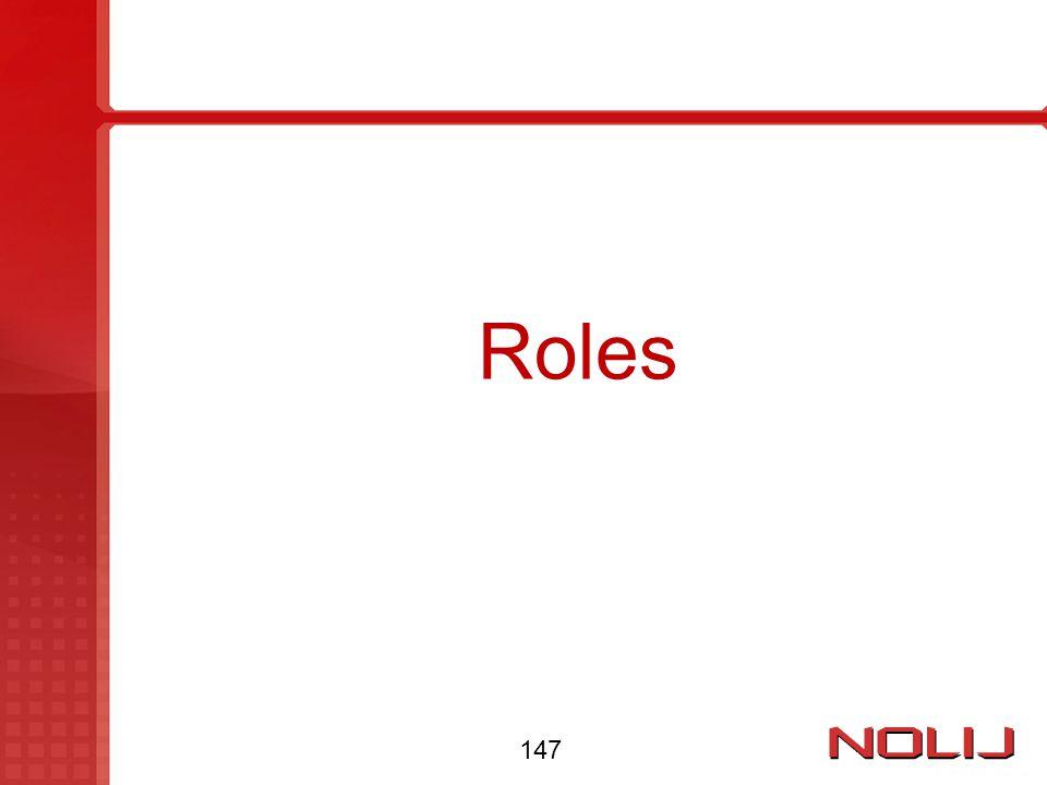 Roles 147