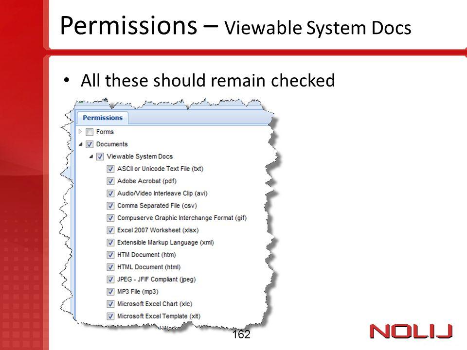 Permissions – Viewable System Docs