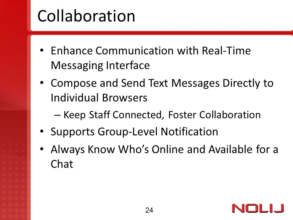 Collaboration Enhance Communication with Real-Time Messaging Interface