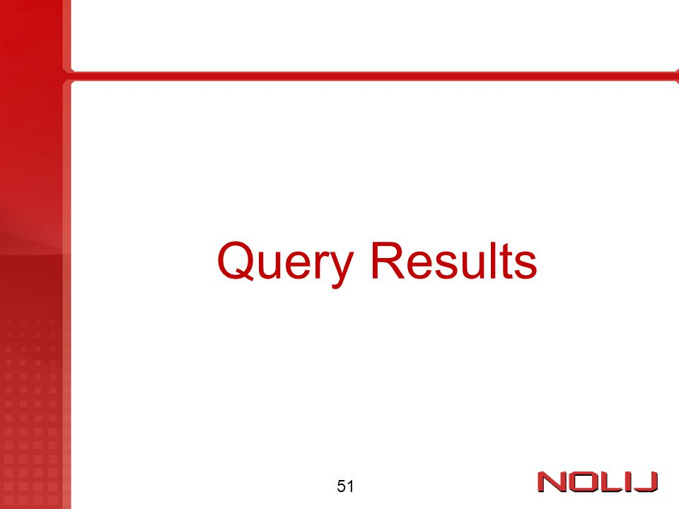 Query Results 51