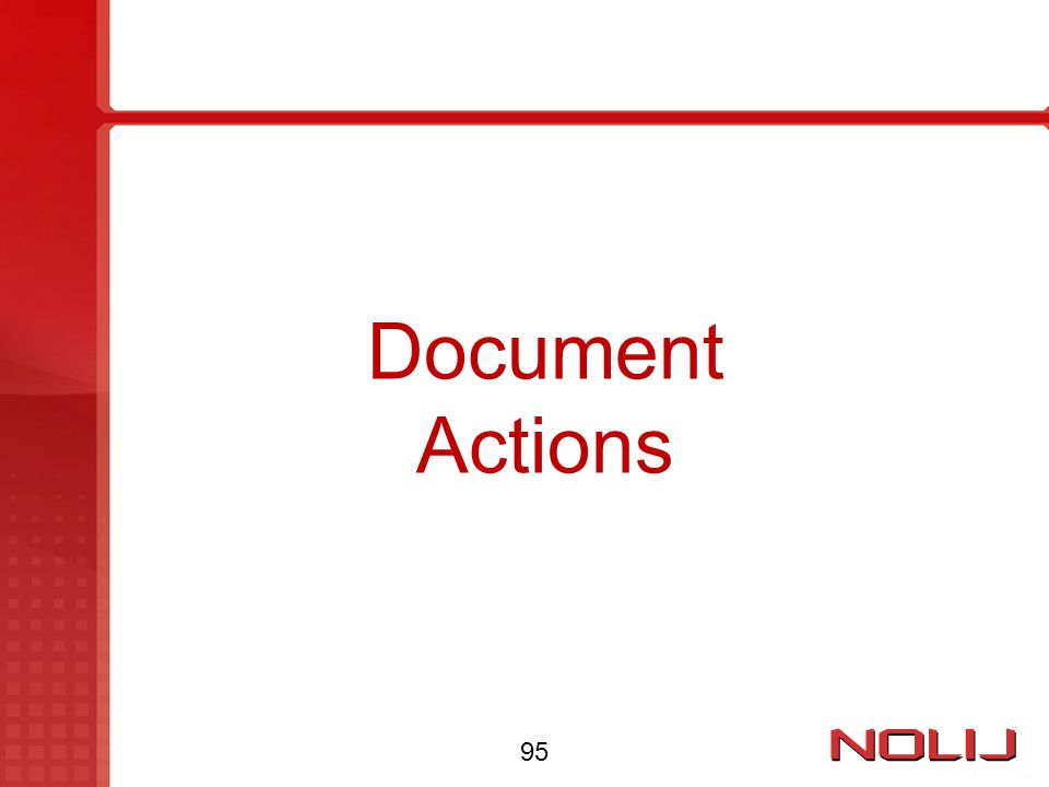 Document Actions 95