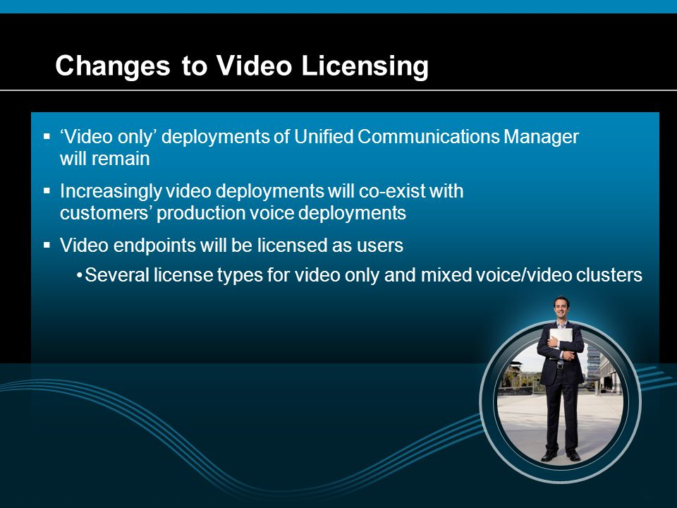 Changes to Video Licensing