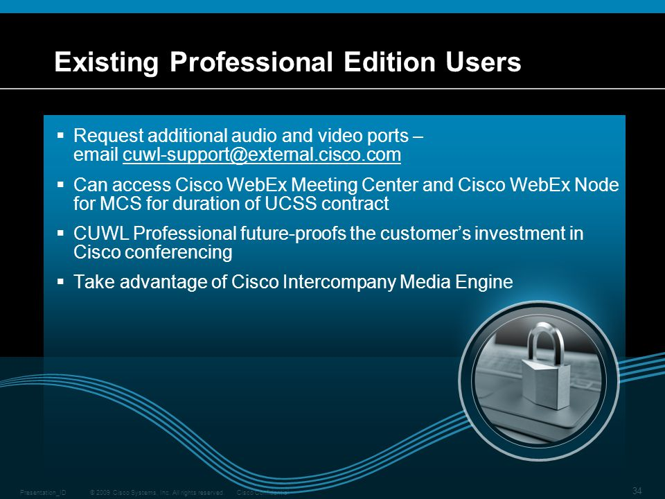 Existing Professional Edition Users