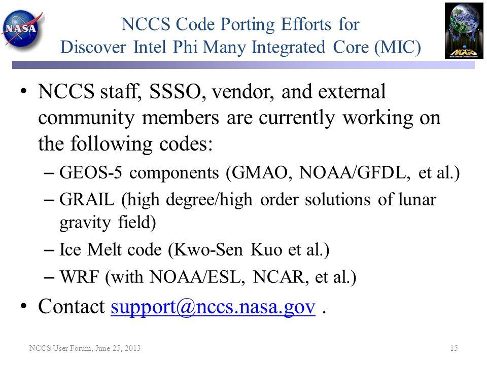 Contact support@nccs.nasa.gov .