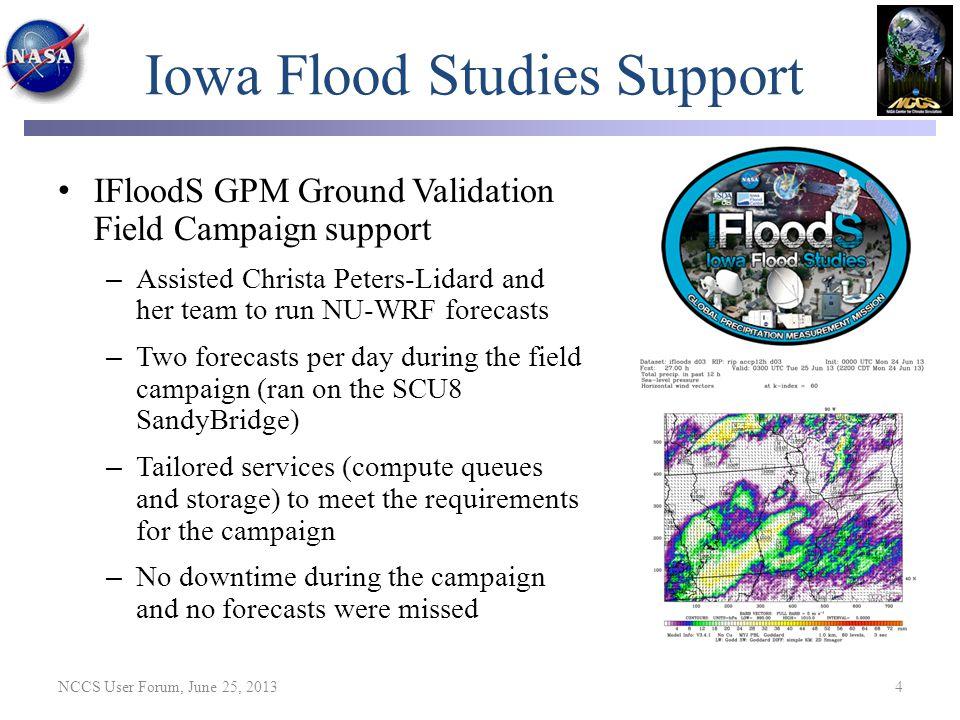 Iowa Flood Studies Support