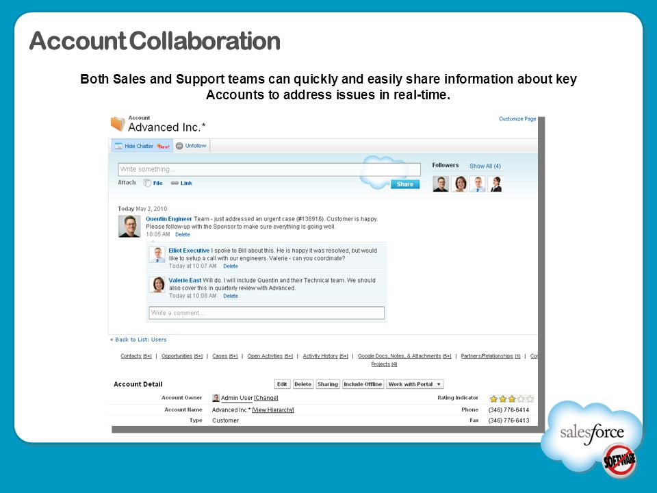 Account Collaboration