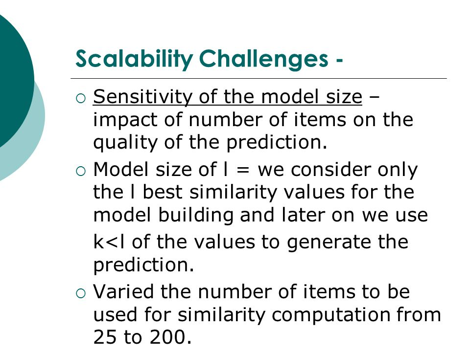 Scalability Challenges -