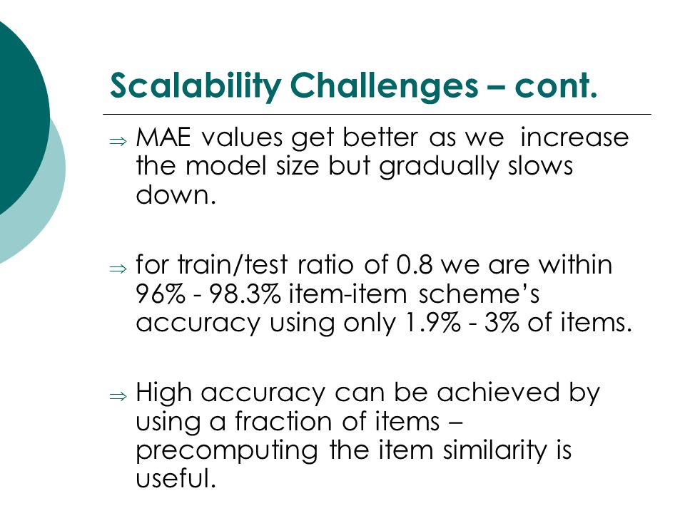 Scalability Challenges – cont.