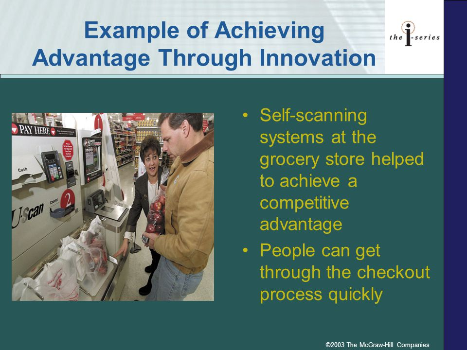 Example of Achieving Advantage Through Innovation